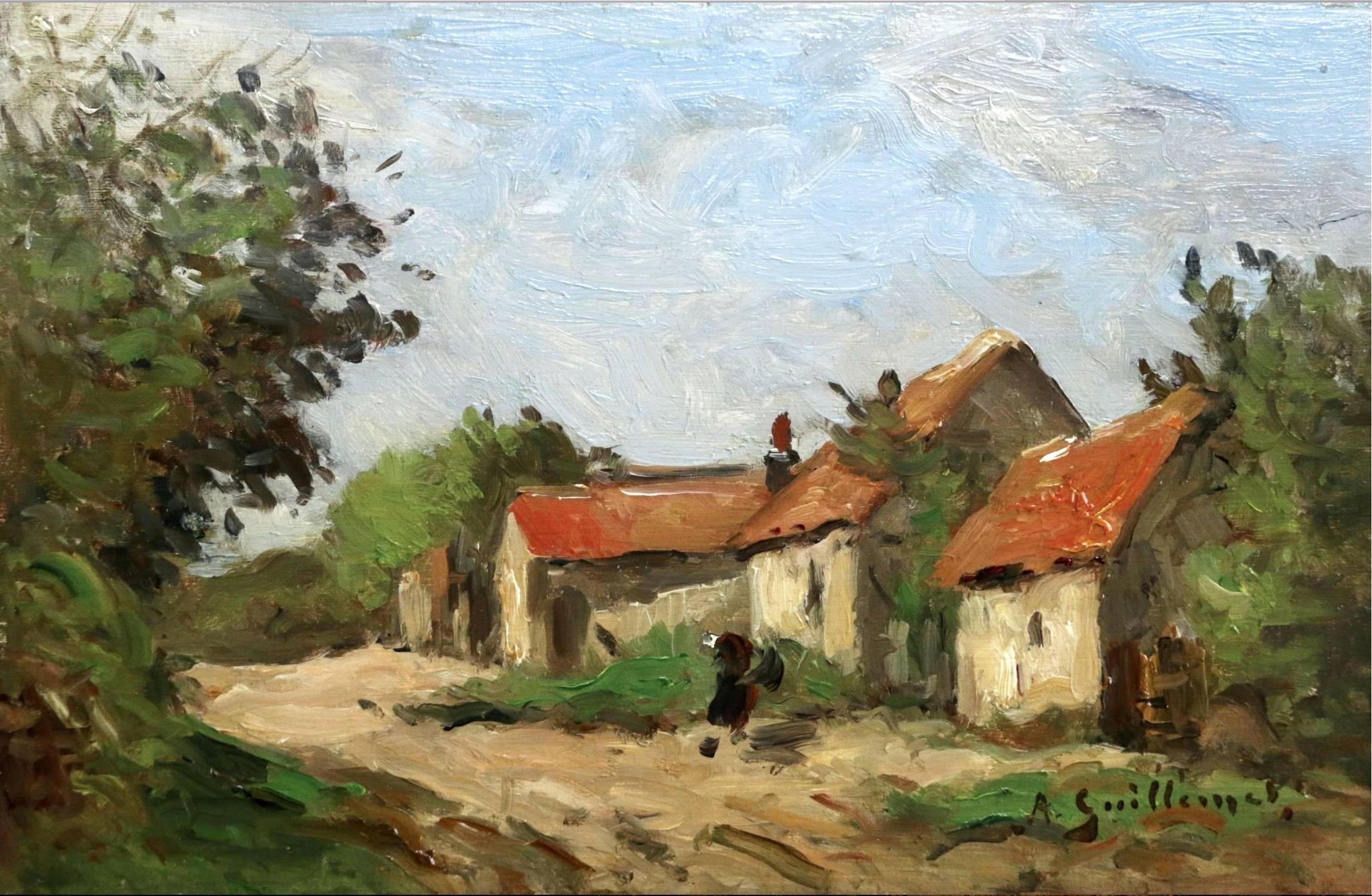 Figure by Cottages
