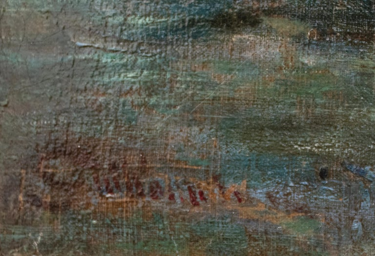 Quai de Bercy - Impressionist Painting by Jean Baptiste-Armand Guillaumin