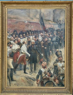19th century French, Surrender of the French at Huningen Fort to the Austrians