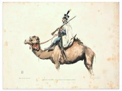 Armée D'Egypte - Regiment Des Dromadaires- Lithograph End of 19th Century