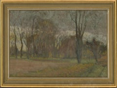 Jean-Baptiste Grancher (1911-1974) - Oil, French Country Scene