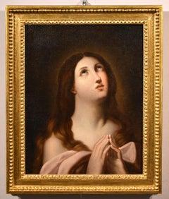 Mary Magdalene Baptiste Greuze Paint Old master Oil on canvas 18th Century Art