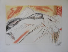 Deadly Sins : Luxury - Original handsigned etching - Ltd 250