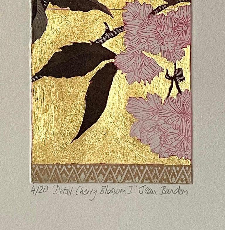 Detail Cherry Blossom 1 - Contemporary Print by Jean Bardon