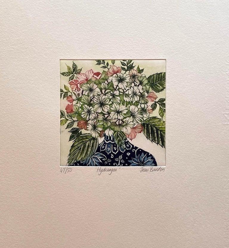 Hydrangea  - Print by Jean Bardon