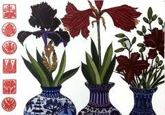 Iris, Amaryllis, Lilies