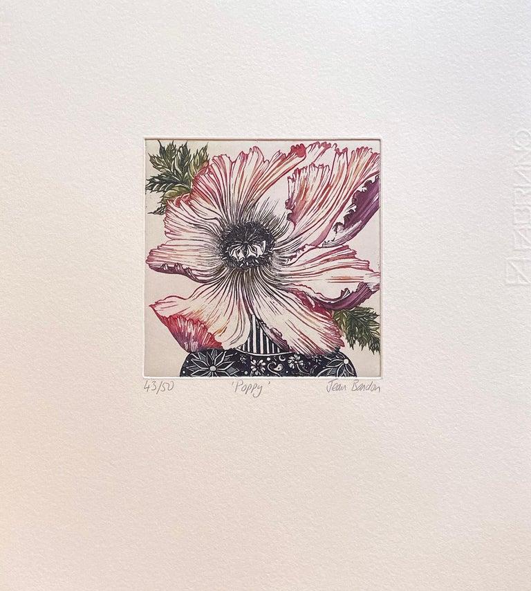 poppy - Print by Jean Bardon