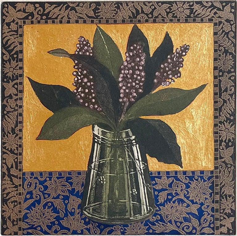 Jean Bardon Still-Life Print - Skimmia Japonica