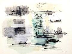 Jean Bazaine (after) -  Pochoir