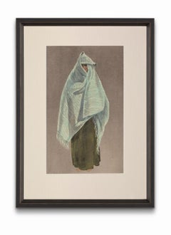 """""""Woman of Tiznit Wearing the Amendil"""", from """"Costumes of Morocco"""""""