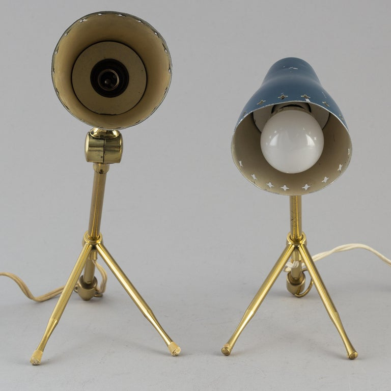Boris Lacroix pair of table/wall lights