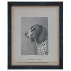 Set of Jean Bungartz Dog Art - Head Study Prints