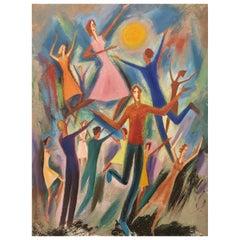 Jean Burkhalter 'Danse', 1968