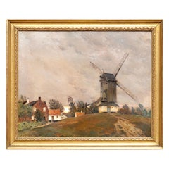 Jean Charles Cazin Impressionist Landscape Painting