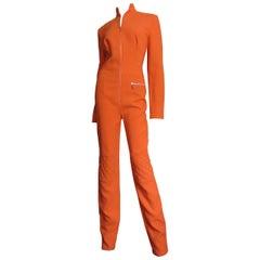 Jean Charles de Castelbajac Zipper Front Jumpsuit