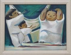 Three Child Musicians Giclee