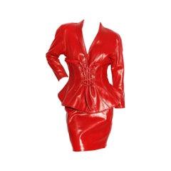 Jean Claude Jitrois Corset Suit Circa 1987