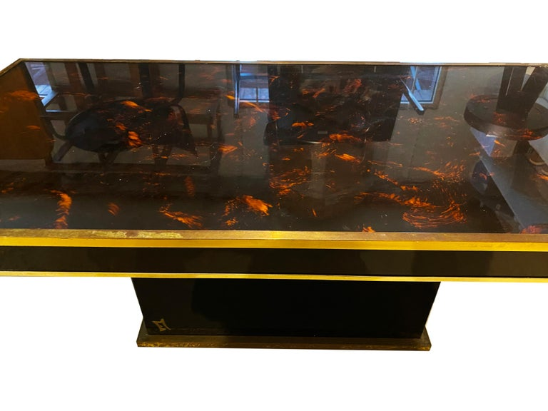 Jean Claude Mahey Coffee Table In Good Condition For Sale In Paris, FR