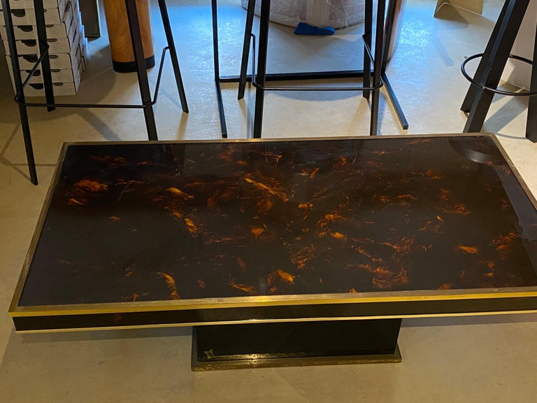 Jean Claude Mahey Coffee Table For Sale 3