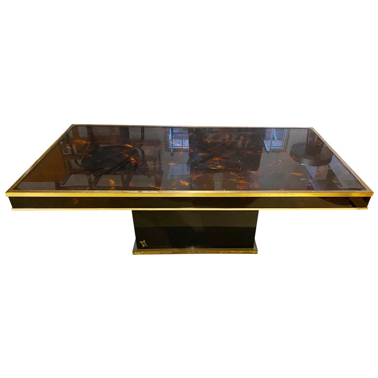 Jean Claude Mahey Coffee Table For Sale