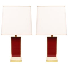 Jean Claude Mahey for Roche & Bobois Table Lamps