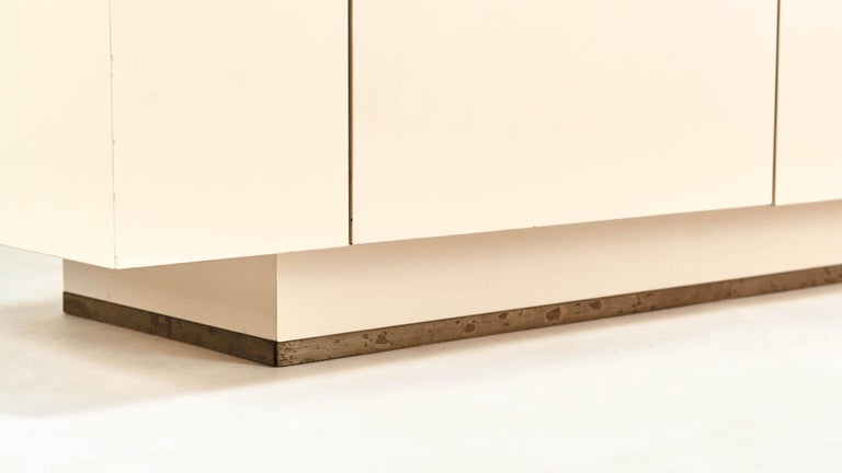 Jean-Claude Mahey, Lacquered Sideboard for Roche Bobois, circa 1970 For Sale 5