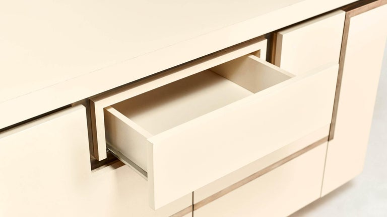 Jean-Claude Mahey, Lacquered Sideboard for Roche Bobois, circa 1970 For Sale 6