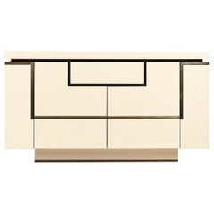 Jean-Claude Mahey, Lacquered Sideboard for Roche Bobois, circa 1970