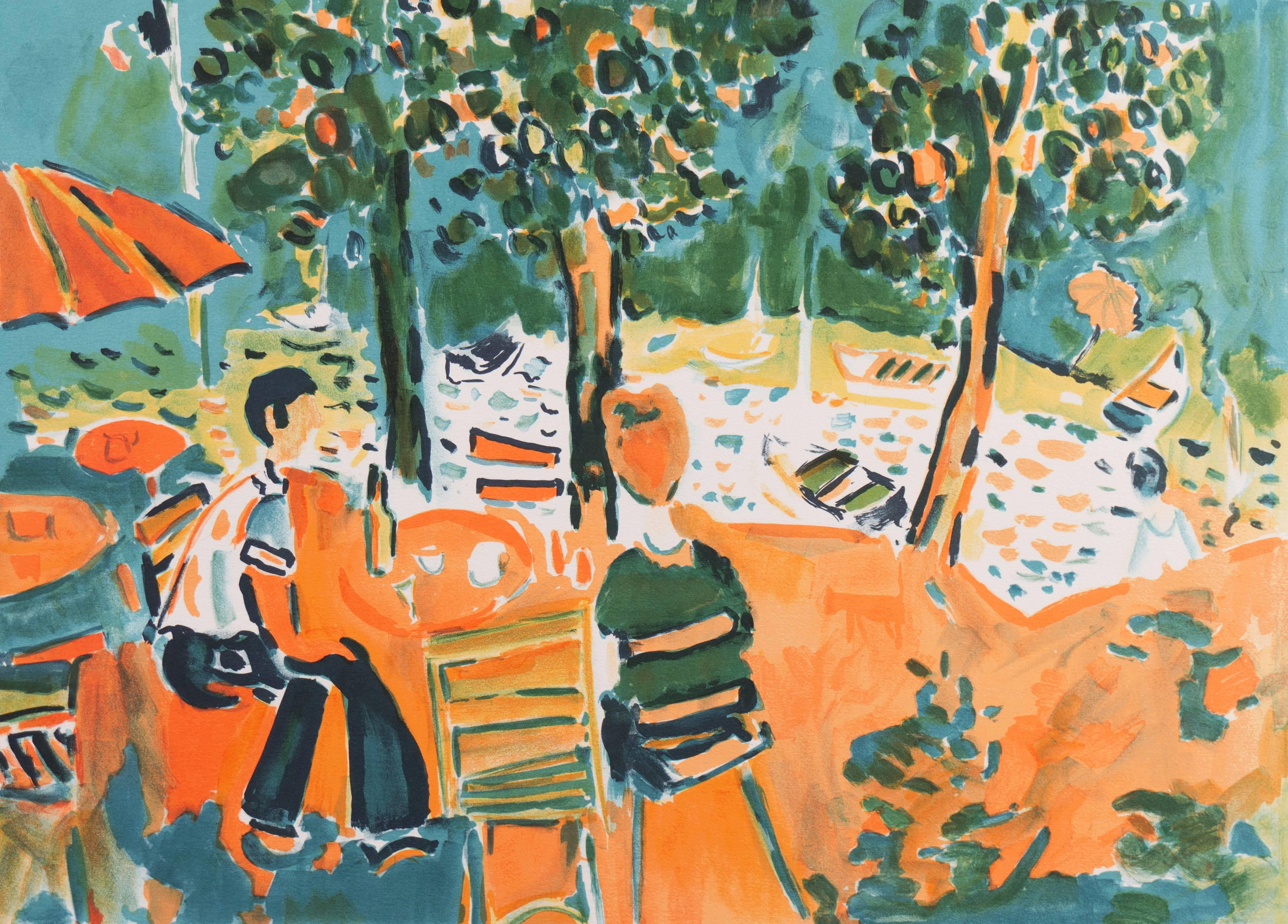 'River Landscape', Academy of Fine Arts in Rouen