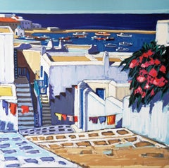Summer in Mykonos - Handsigned lithograph