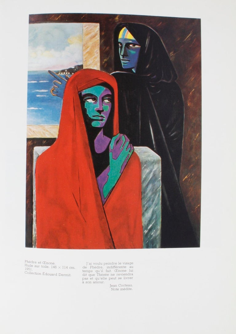 Jean Cocteau: Poète Graphique. Paris: Société des Éditions du Chêne, 1975. Hardcover with dust jacket, French text. 213 pp. A chronological review of Jean Cocteau's drawings and visual art from childhood to his later paintings and murals. He was a