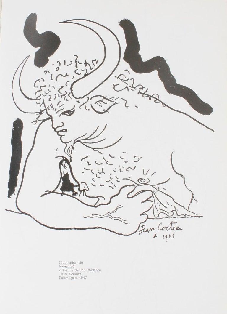 Jean Cocteau: Poète Graphique For Sale 1