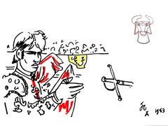 Jean Cocteau - Hero - Original Lithograph