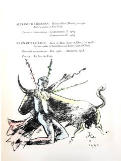Jean Cocteau - Morlot - Original Lithograph