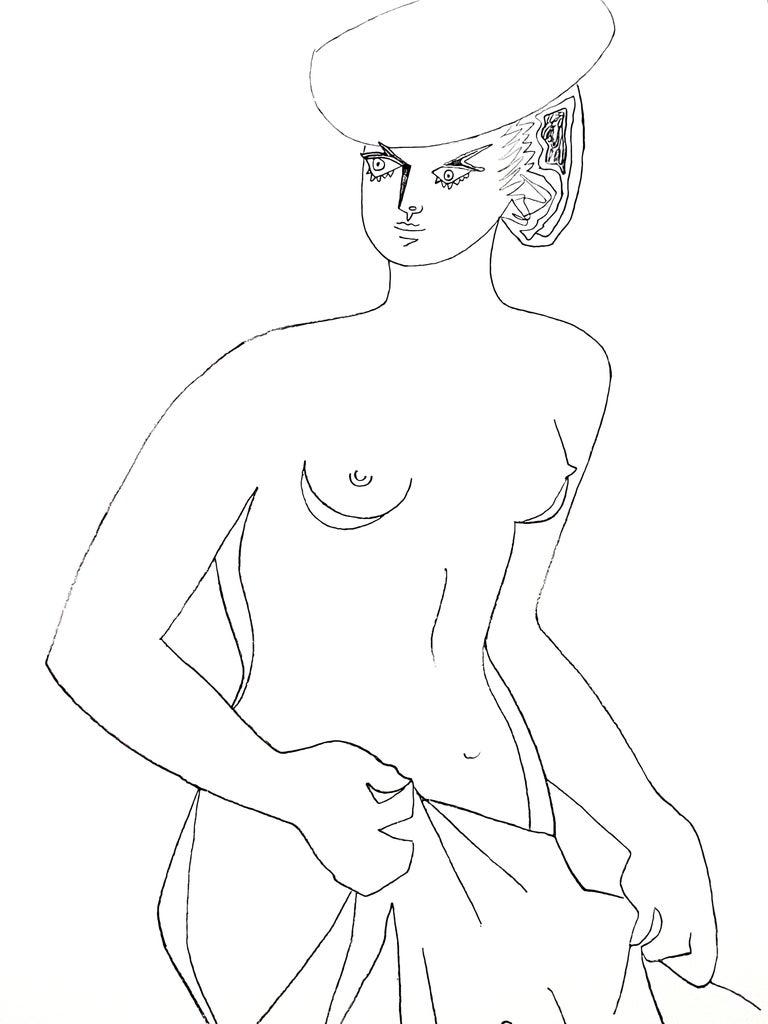 Jean Cocteau - Actress - Original Lithograph 6