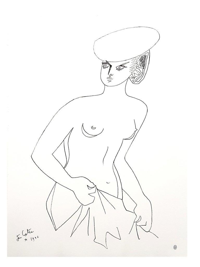 Jean Cocteau - Actress - Original Lithograph 7
