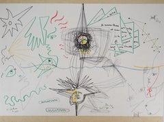 Jean COCTEAU and Raymond MORETTI: The symbiosis - Original Hansigned Lithograph