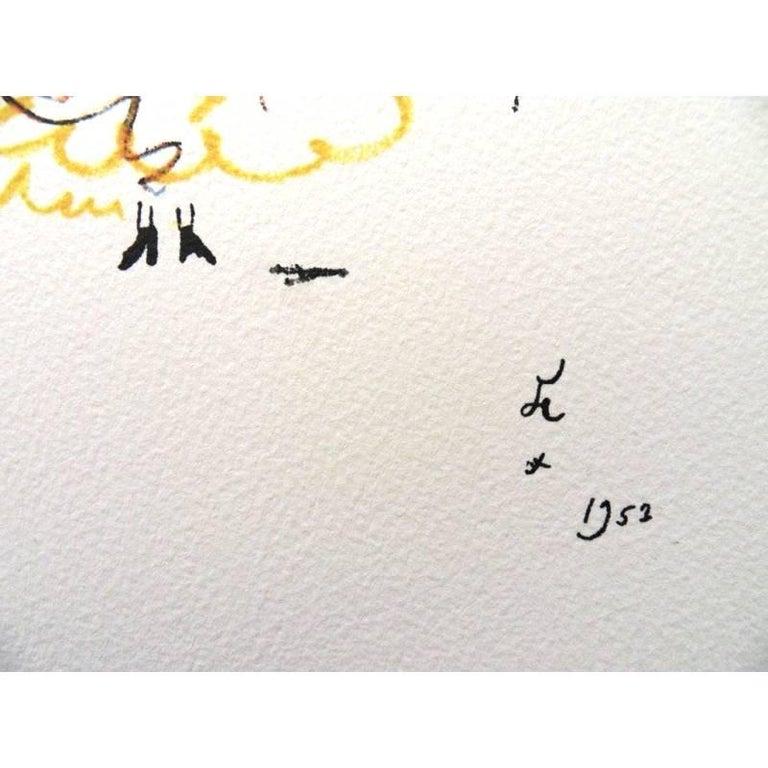 Jean Cocteau -  Carmen - Original Lithograph For Sale 2