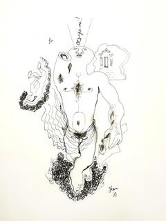 Jean Cocteau - King Oedipus - Original Lithograph