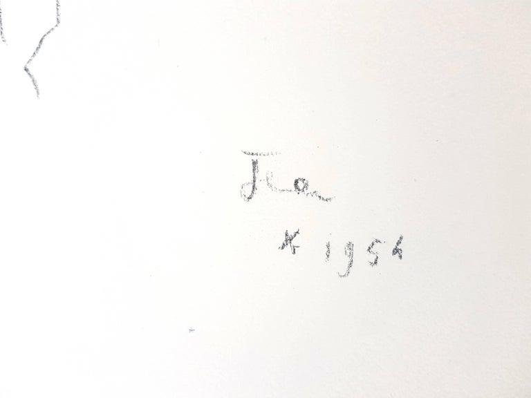 Jean Cocteau - Lovers - Original Lithograph For Sale 3