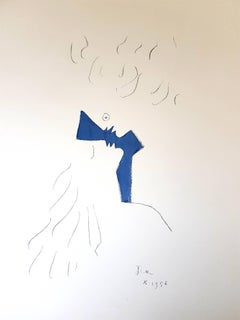 Jean Cocteau - Lovers - Original Lithograph