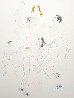Jean Cocteau - Olé - Original Lithograph