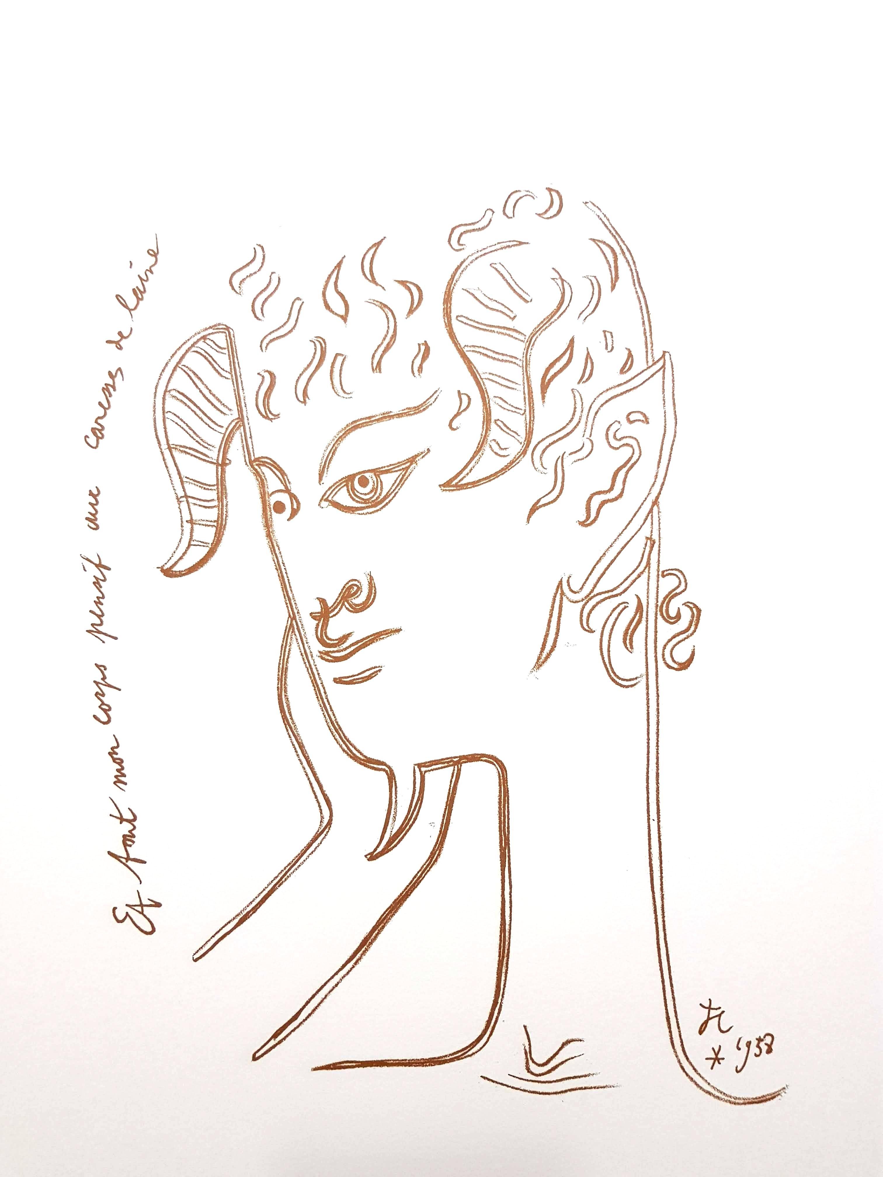 Jean Cocteau plates