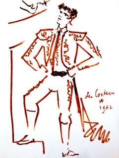 Jean Cocteau - Strength - Original Lithograph