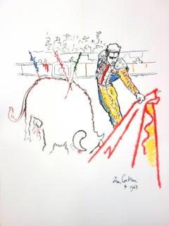 Jean Cocteau - Torrero - Original Lithograph