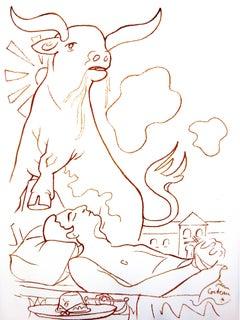 Jean Cocteau - Vision - Original Lithograph
