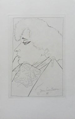 Portrait of Colette - Etching, 1941
