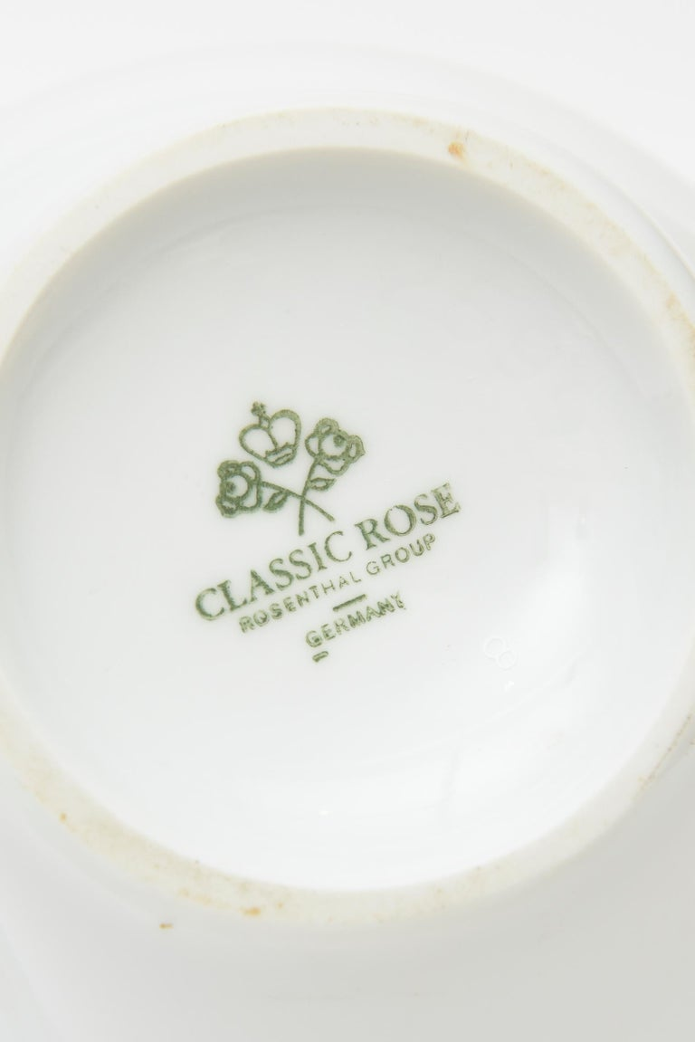 Jean Cocteau for Rosenthal Tetes Face Porcelain Hand Painted Vase Vessel For Sale 3