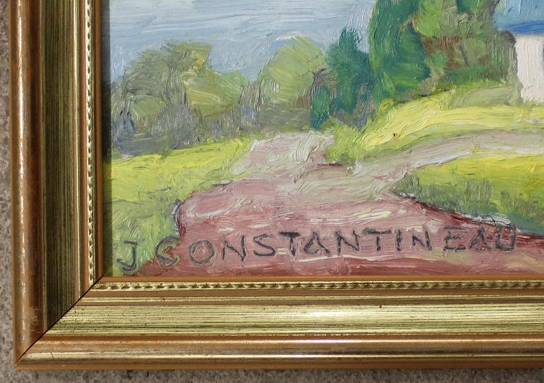 Canadian Jean Constantineau Painting For Sale