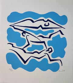 Swimmers - Original Handsigned Screen Print /60ex
